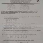 Soal dan Pembahasan – Ujian Akhir Semester (UAS) Aljabar Linear Elementer (Versi A) – Prodi Pendidikan Matematika FKIP Untan