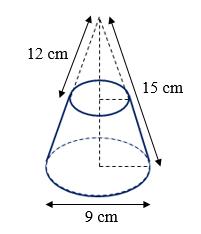Kesebangunan segitiga pada kerucut
