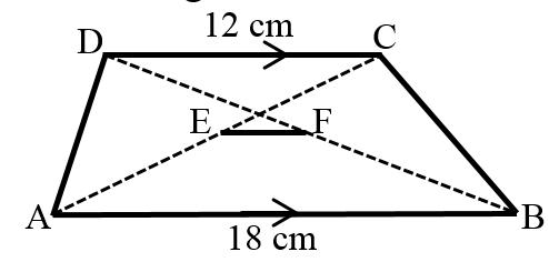 Kesebangunan pada bangun datar trapesium