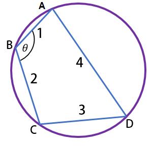 Tali busur ABCD dalam lingkaran