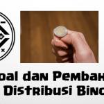 Soal dan Pembahasan Super Lengkap – Distribusi Peluang Binomial