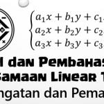 Soal dan Pembahasan – Sistem Persamaan Linear Tiga Variabel (SPLTV)