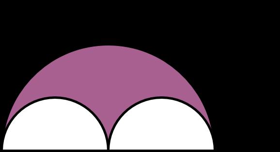 Gabungan Bangun Datar Lingkaran