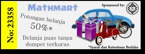 Kupon hadiah Mathmart