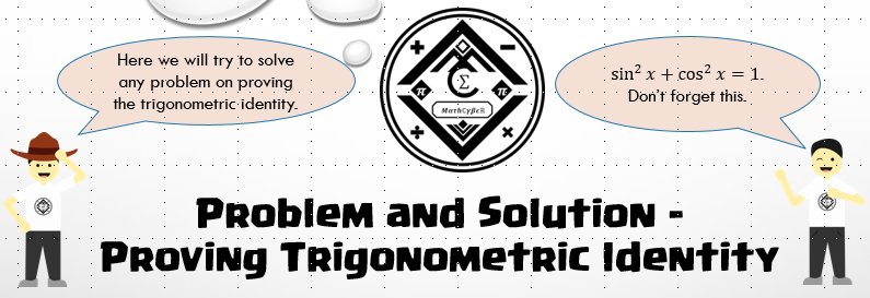 Proving trigonometric identity