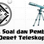 Materi, Soal, dan Pembahasan – Deret Teleskopik