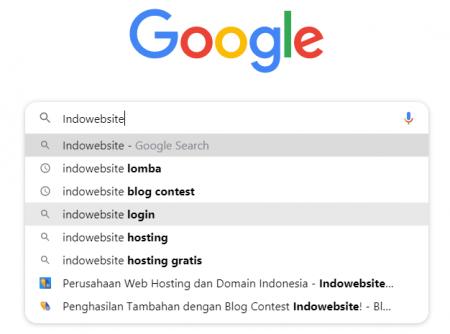 Browsing Menggunakan SE Google