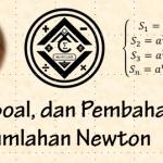 Materi, Soal, dan Pembahasan – Jumlahan Newton