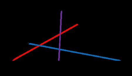 Segmen Garis AD, BE, dan CF merupakan cevian pada segitiga ABC