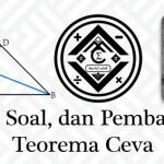 Materi, Soal, dan Pembahasan – Teorema Ceva