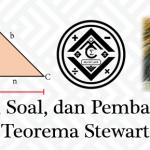 Materi, Soal, dan Pembahasan – Teorema Stewart