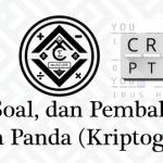 Materi, Soal, dan Pembahasan – Bahasa Panda (Kriptogram)