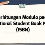 Perhitungan Modulo pada International Standard Book Number (ISBN)